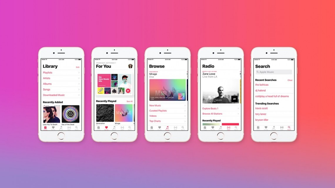 Explore the All-New Apple Music