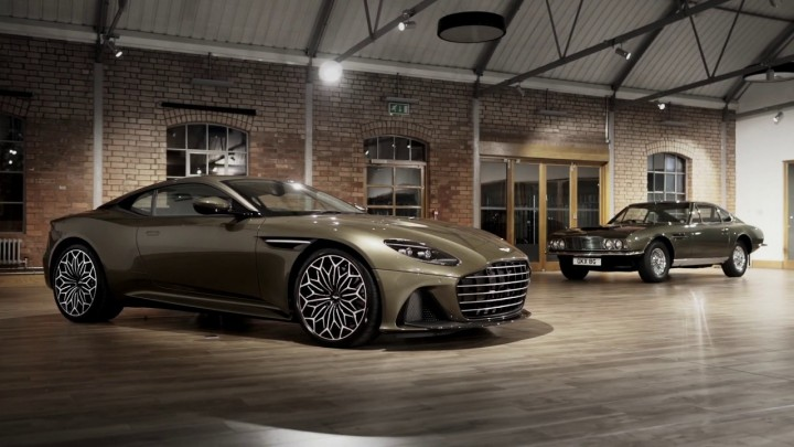 Aston Martin On Her Majesty's Secret Service DBS Superleggera Special Edition