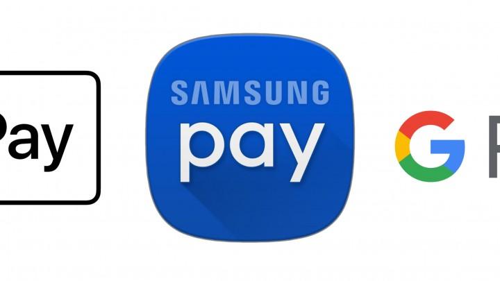 Apple Pay – Samsung Pay – Google Pay