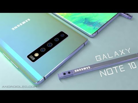 Samsung Galaxy Note 10 5G | Introduction Concept Video 2019
