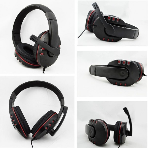 Gaming Wired Adjustable Headset 5