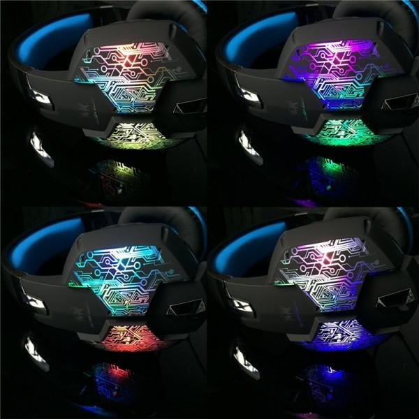 Gaming Stereo LED Light Headset 2