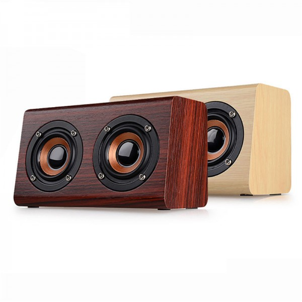 Retro Wooden Wireless Speaker 1