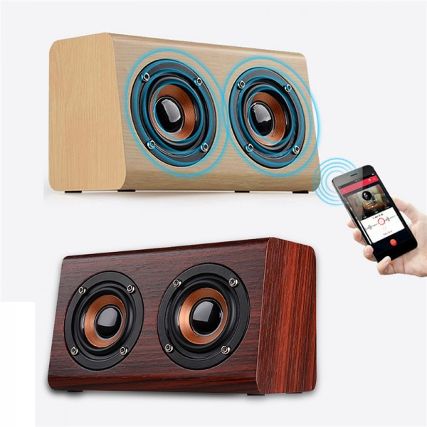 Retro Wooden Wireless Speaker 7