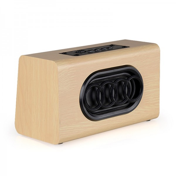 Retro Wooden Wireless Speaker 6