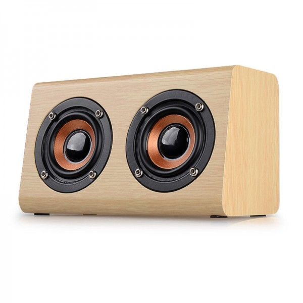 Retro Wooden Wireless Speaker 5