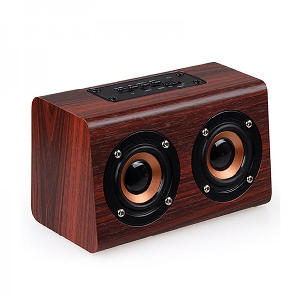Retro Wooden Wireless Speaker 4