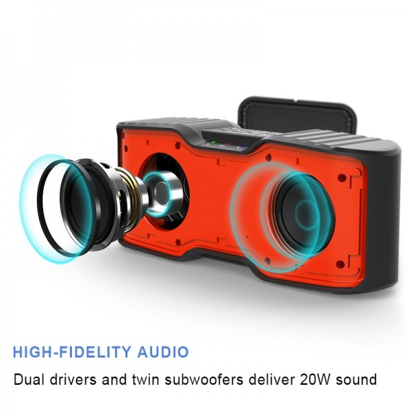 Stereo Wireless Waterproof Outdoor Speaker 3