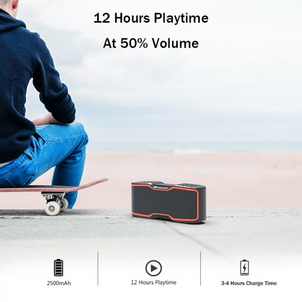 Stereo Wireless Waterproof Outdoor Speaker 4