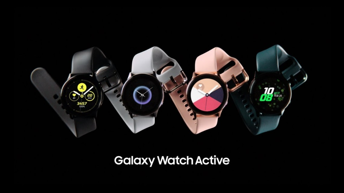 Galaxy Watch Active: Official Introduction