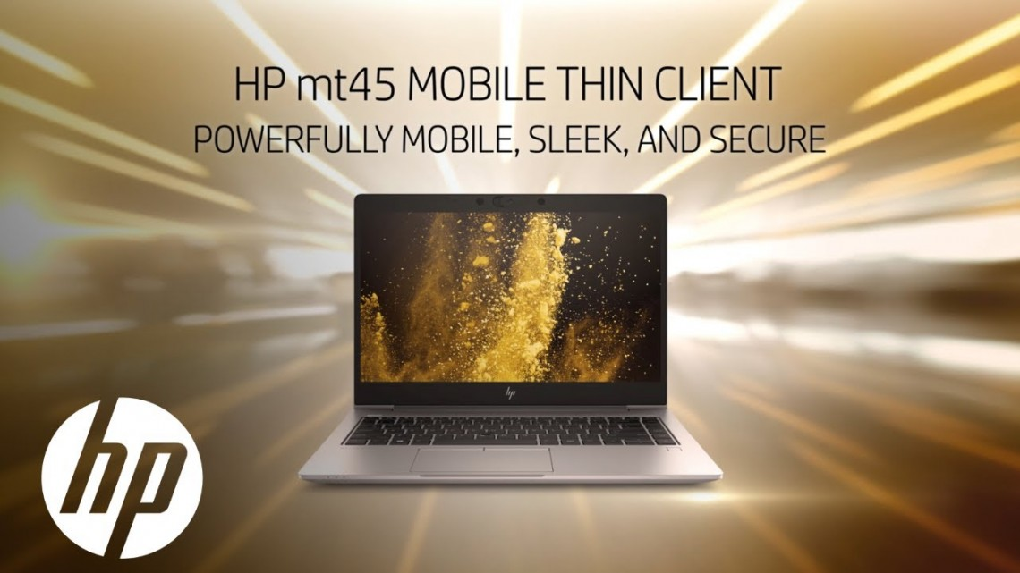 HP Mt45: The World's Most Advanced Mobile Thin Client For Collaboration | HP Thin Clients | HP