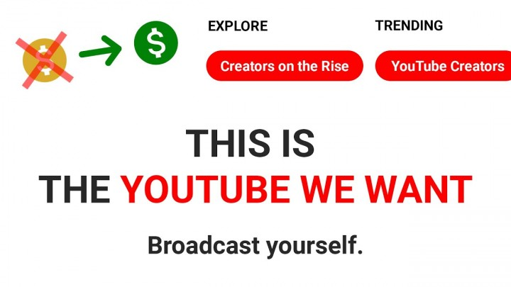 Redesigned YouTube Concept #YouTubeWeWant