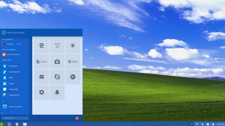 Windows XP 2018 Edition (Concept)