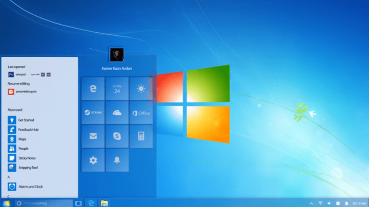 Windows 7 — 2018 Edition (Concept Design)