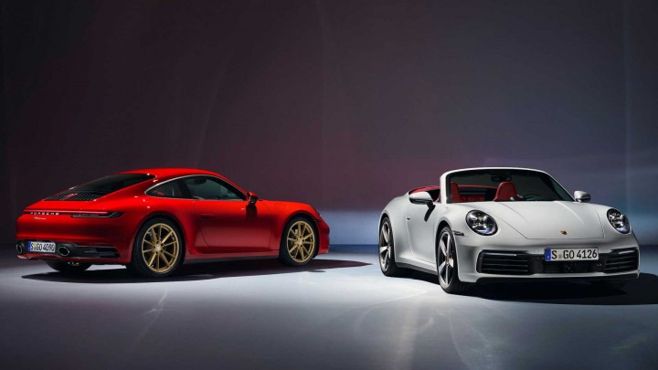 The new 911 Carrera Coupé and 911 Carrera Cabriolet.