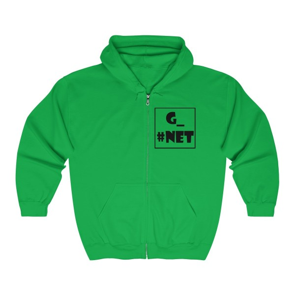 Gadget Net UK Unisex Heavy Blend™ Full Zip Hooded Sweatshirt 1
