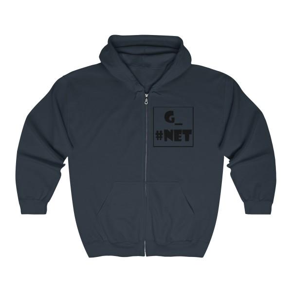 Gadget Net UK Unisex Heavy Blend™ Full Zip Hooded Sweatshirt 6