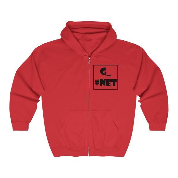 Gadget Net UK Unisex Heavy Blend™ Full Zip Hooded Sweatshirt 10