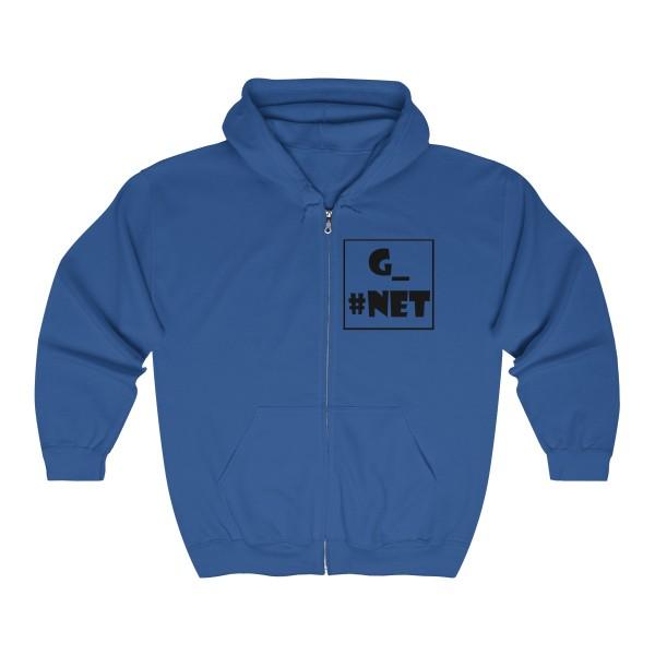 Gadget Net UK Unisex Heavy Blend™ Full Zip Hooded Sweatshirt 5