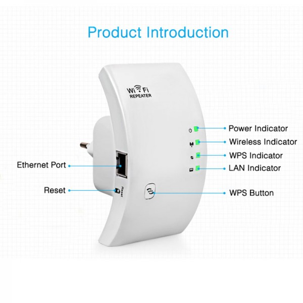 Wireless Wifi Extender 300 Mbps 3