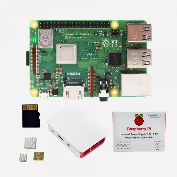 Raspberry Pi 3 B+ (B Plus) Starter Kit 1