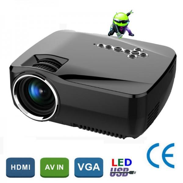 WiFi Bluetooth Portable Mini Smart Projector 2
