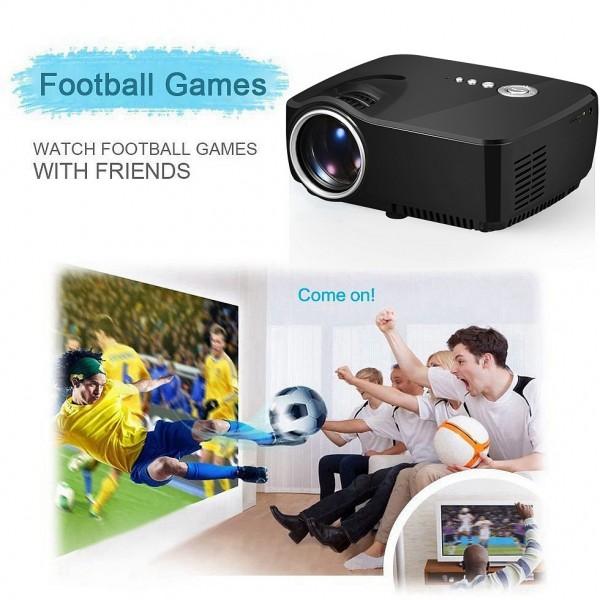 WiFi Bluetooth Portable Mini Smart Projector 6