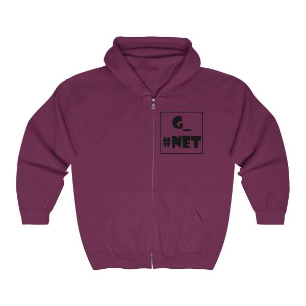 Gadget Net UK Unisex Heavy Blend™ Full Zip Hooded Sweatshirt 8