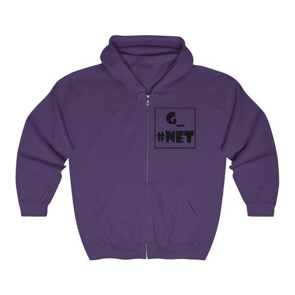 Gadget Net UK Unisex Heavy Blend™ Full Zip Hooded Sweatshirt 7