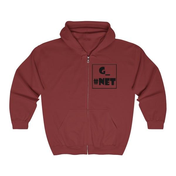 Gadget Net UK Unisex Heavy Blend™ Full Zip Hooded Sweatshirt 11