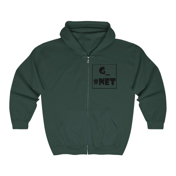 Gadget Net UK Unisex Heavy Blend™ Full Zip Hooded Sweatshirt 2