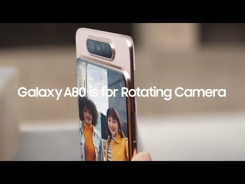 Galaxy A80 Official TVC: Football