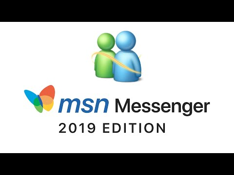 MSN Messenger 2019 Edition (Concept)