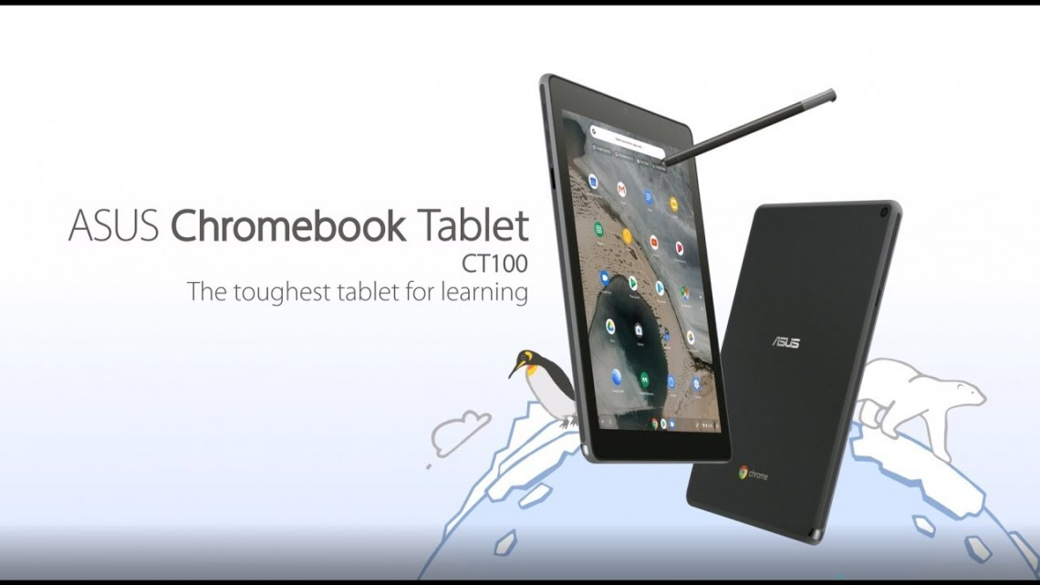 The toughest tablet for learning – Chromebook Tablet CT100 | ASUS