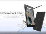 The toughest tablet for learning Chromebook Tablet CT100 ASUS