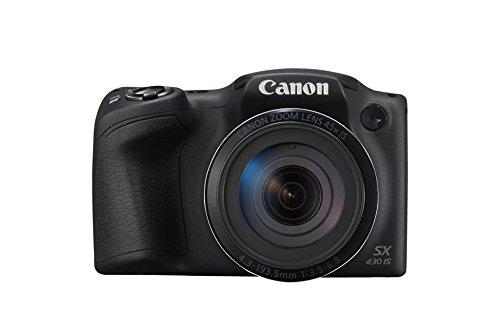 Canon PowerShot SX430 IS Digital Compact Camera - Black 1