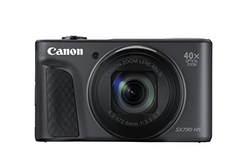Canon Powershot SX730 HS 20.3 MP Camera Camera - Black 1