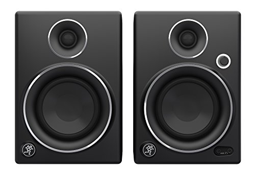 Mackie CR4 Studio Monitors - Limited Edition Silver (Pair) 1