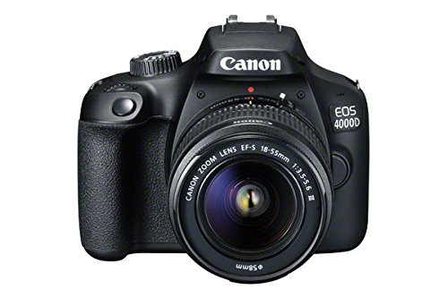 Canon EOS 4000D DSLR Camera and EF-S 18-55 mm f/3.5-5.6 III Lens - Black 1