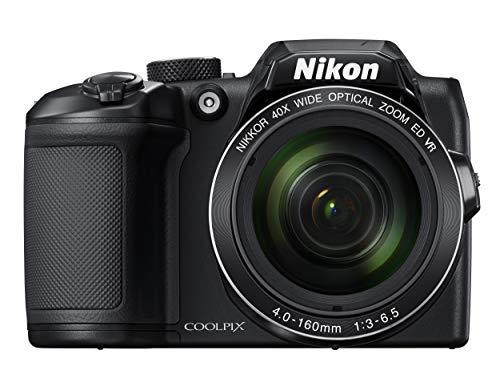 Nikon B500 Coolpix Digital Compact Camera - Black 1