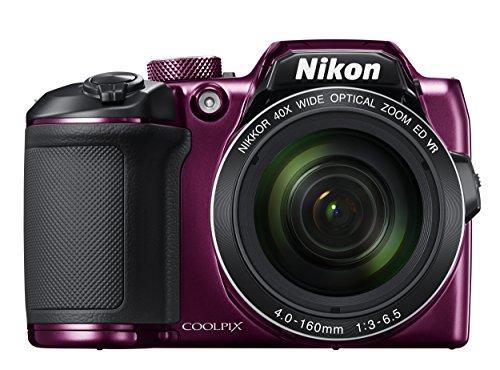 Nikon B500 Coolpix Digital Compact Camera - Plum 1