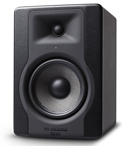 M-Audio BX5 D3 100 W, 5 Inch Active Studio Monitor Speaker for Music Studio Production, Mixing and Mastering 1