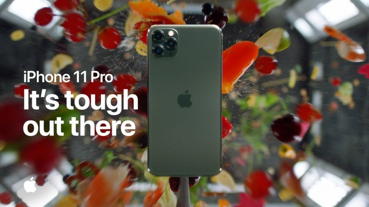 iPhone 11 Pro — It's tough out there — Apple