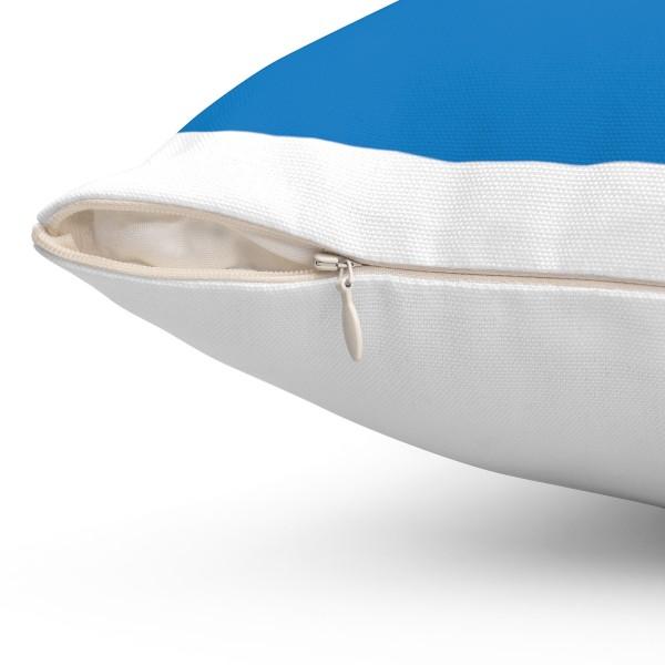 Facebook Spun Polyester Square Pillow Case 2