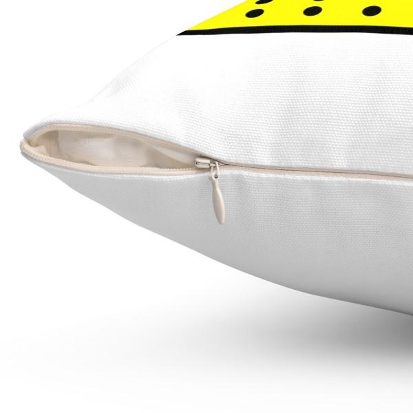 SnapChat Spun Polyester Square Pillow Case 6