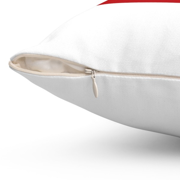 YouTube Spun Polyester Square Pillow Case 8