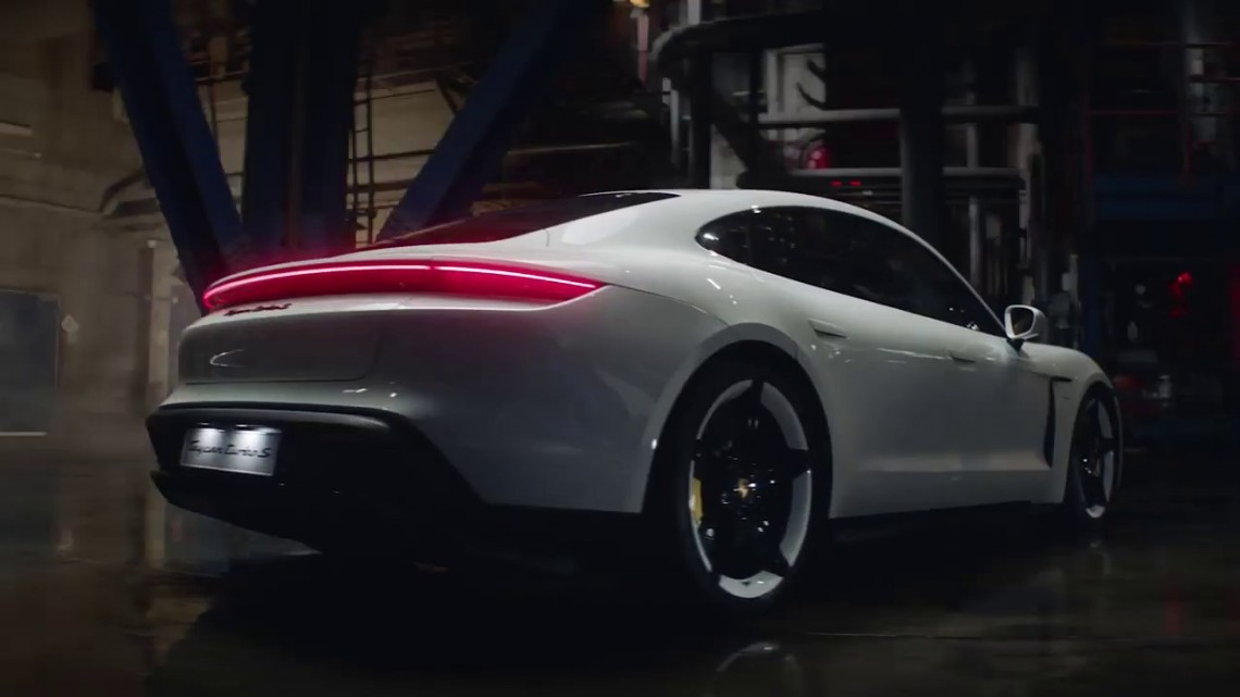 The new Porsche Taycan – Designed to enliven