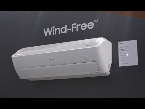 New Wind-Free™ Air Conditioner | Samsung