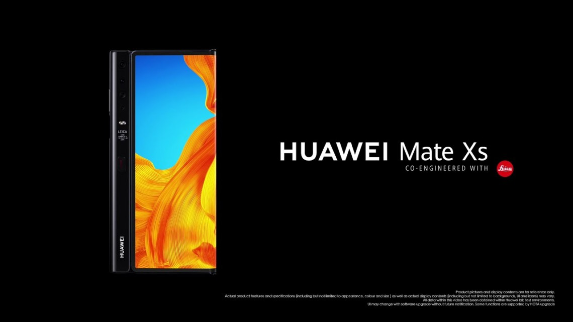 Huawei Mate Xs – pushing the boundaries, once again.