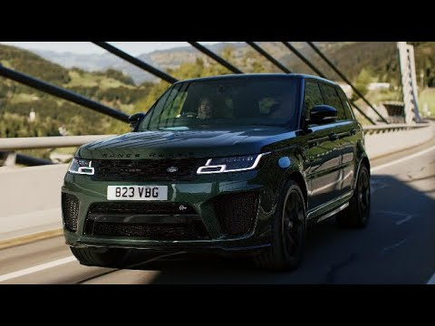 Range Rover Sport SVR – Supercharge Your Commute